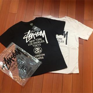 STUSSY - STUSSYサイズL黒白2点セット半袖Tシャツ