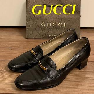 グッチ(Gucci)のイタリー製 クラシカルGUCCI (ハイヒール/パンプス)