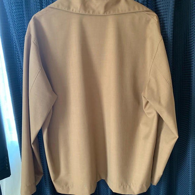 COMOLI(コモリ)のAURALEE WOOL SILK TROPICAL SHIRTS JACKET メンズのジャケット/アウター(テーラードジャケット)の商品写真