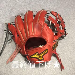 MIZUNO - ミズノプロ軟式グローブ内野手グラブ坂本モデル波賀ジャパン