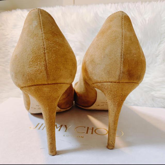 JIMMY CHOO(ジミーチュウ)の秋物💝jimmy chooスウェードパンプス レディースの靴/シューズ(ハイヒール/パンプス)の商品写真