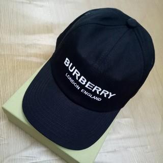BURBERRY - BURBERRY バーバリー 帽子 キャップ ブラック
