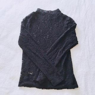 ジーユー(GU)の#GU #レーストップス  #コスプレ #ゴスロリ(Tシャツ(長袖/七分))