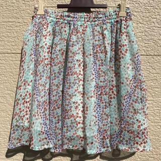 UNITED ARROWS - 美品 ユナイテッドアローズ スカート 柄 38