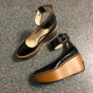 ヴィヴィアンウエストウッド(Vivienne Westwood)のプラットホーム ベルトパンプス(ローファー/革靴)