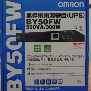 オムロン(OMRON)の【OMRON/オムロン】UPS/無停電電源装置 新品(PC周辺機器)