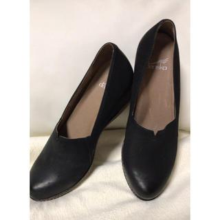 ダンスコ(dansko)のダンスコ リリアーナスリップオンシューズ 黒 38(ローファー/革靴)