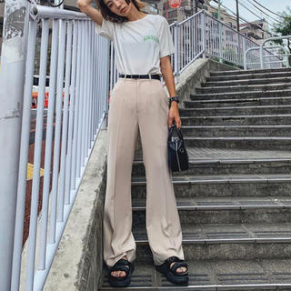 moussy - 今季新作☆MOUSSY CENTER PRESS FLARE パンツ新品サイズ1