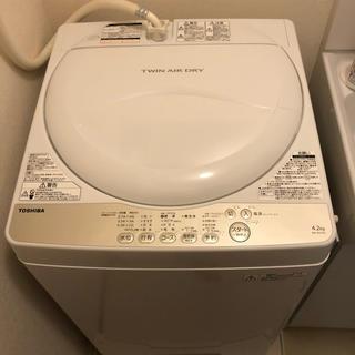 トウシバ(東芝)のTOSHIBA 東芝全自動洗濯機 型番AW-4S3 (洗濯機)