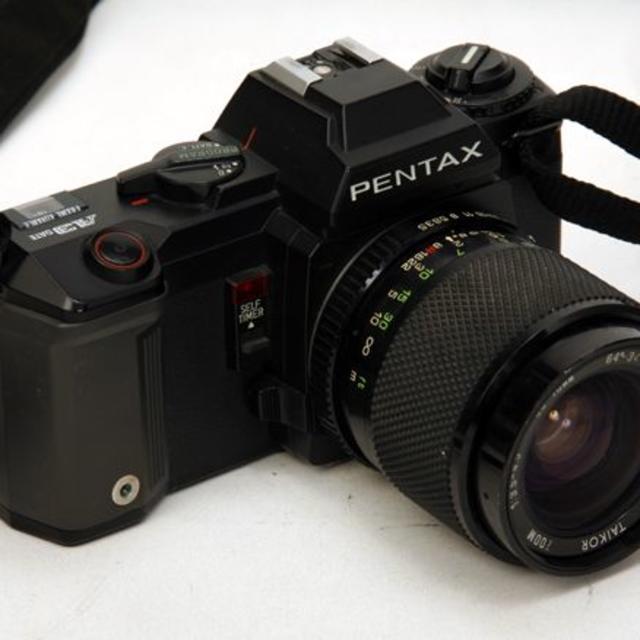 PENTAX(ペンタックス)の動作確認済 PENTAX ペンタックス A3 レンズ ストロボ付 スマホ/家電/カメラのカメラ(フィルムカメラ)の商品写真