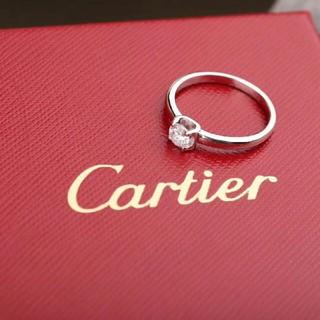 カルティエ(Cartier)のカルティエソリテール お値下げ(リング(指輪))