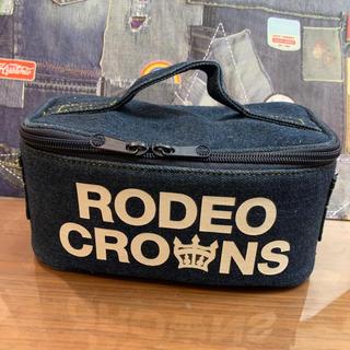 ロデオクラウンズワイドボウル(RODEO CROWNS WIDE BOWL)のRODEO バニティ インディゴ(ポーチ)