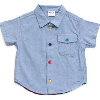 ブリーズ(BREEZE)の新品【 星条旗プリントシャツ ブリーズ 】 80(シャツ/カットソー)