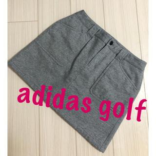 adidas - 美品♡アディダスゴルフ 中綿 スカート ゴルフウェア