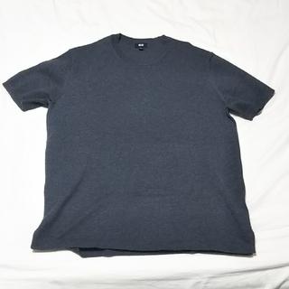 ユニクロ(UNIQLO)の半袖ニット(Tシャツ/カットソー(半袖/袖なし))