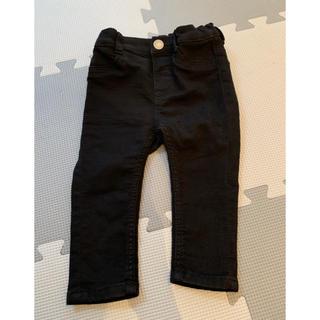 エイチアンドエム(H&M)のH&M  黒パンツ  試着のみ(パンツ)