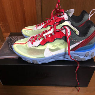 UNDERCOVER - 25.5cm NIKE REACT ELEMENT 87 UNDERCOVER