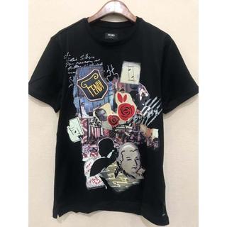 フェンディ(FENDI)のFENDI 19AW 新作 ジャージー Tシャツ プリント(Tシャツ/カットソー(半袖/袖なし))