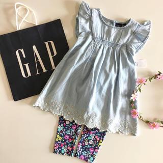 ベビーギャップ(babyGAP)の新品♡今季♡baby gap♡ワンピース デニム/ラルフローレン ユニクロ 他(ワンピース)