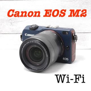 Canon - ❤️Wifi搭載❤️バッテリー2個付き❤️Canon EOS M2