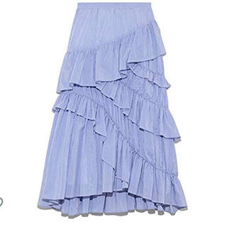 フレイアイディー(FRAY I.D)の新品フリルティアードスカート(ロングスカート)