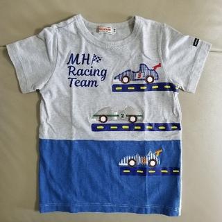 mikihouse - レーシングカー半袖Tシャツ110
