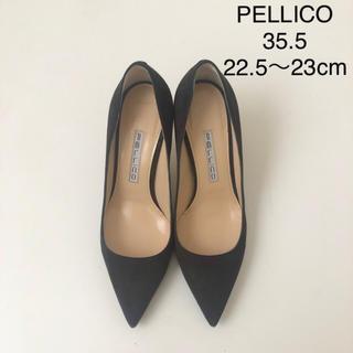 PELLICO - 美品 ★ ペリーコ  cora スエードパンプス