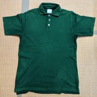 coen - 【美品】コーエン(Coen) メンズポロシャツ Mサイズ グリーン 綿100%