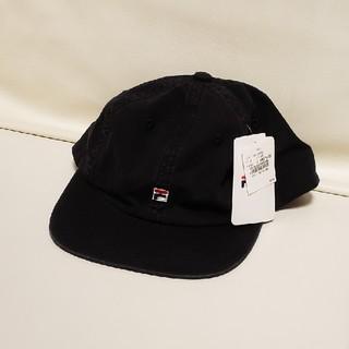 FILA - タグ付き 新品 フィラ キャップ 黒