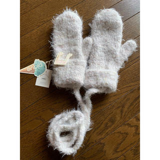ジェラートピケ(gelato pique)のジェラートピケ フワフワ手袋(手袋)