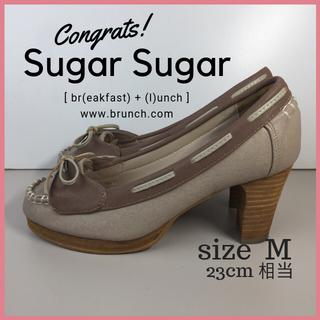 シュガーシュガー(Sugar Sugar)のシュガー シュガー Sugar Sugar ヒール パンプス サイズM(ハイヒール/パンプス)