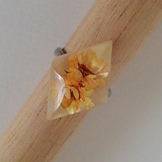 水中花のリング(リング(指輪))