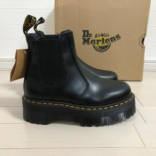 ドクターマーチン(Dr.Martens)の【新品未使用】UK3(22.0) ドクターマーチン QUAD 厚底 ブーツ(ブーツ)