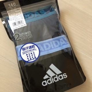 adidas - 140cm adidasボクサーパンツ