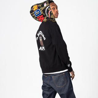 A BATHING APE - wiz khalifa bape パーカー