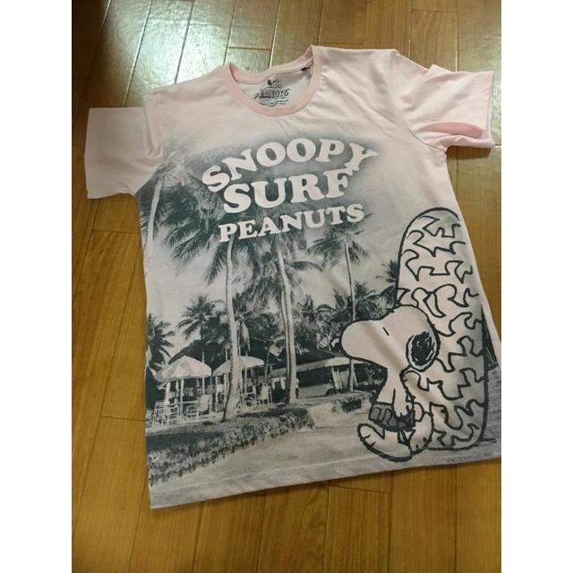 SNOOPY(スヌーピー)の可愛いスヌーピーTシャツ レディースのトップス(Tシャツ(半袖/袖なし))の商品写真
