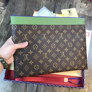 LOUIS VUITTON - スターバックスとAXEX会社连携タイプ!!! ルイヴィトン セカンドバッグ