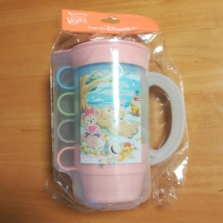 Disney - 【匿名配送】ダッフィー&フレンズ スプリングボヤッジ コップセット ピッチャー付