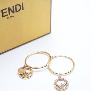 フェンディ(FENDI)のFENDI フェンディ エフ イズ フェンディ リング 定価31320円 M(リング(指輪))