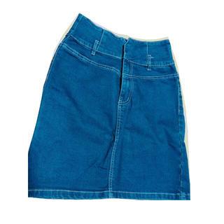 ウィゴー(WEGO)のデニムスカート(ひざ丈スカート)