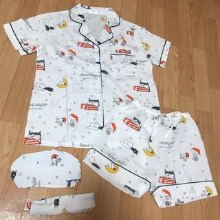 スヌーピー(SNOOPY)の♡スヌーピー♡ ルームウェア パジャマ セットアップ 新品 snoopy(ルームウェア)