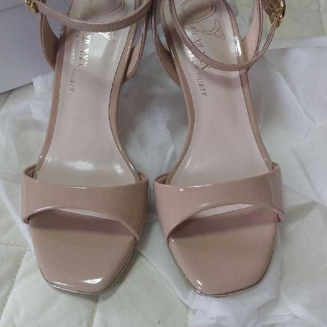 VII XII XXX(セヴントゥエルヴサーティ)の今期美品☆セブントゥエルブサーティー アンクルストラップサンダル 結婚式22.5 レディースの靴/シューズ(サンダル)の商品写真