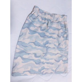 ウィゴー(WEGO)の迷彩柄🌿スカート(ひざ丈スカート)