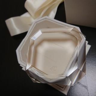 ヨンドシー(4℃)の4℃ リングケース ガラス アクセサリー ケースのみ(その他)