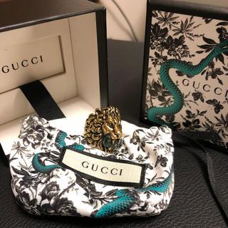 Gucci - GUCCIタイガーリング