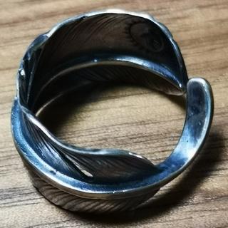 ゴローズ(goro's)の■ラクマ限定特価 未使用■ 全銀 特大フェザー リング(リング(指輪))