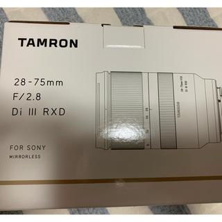 TAMRON - TAMRON 28-75mm F/2.8 Di Ⅲ RXD