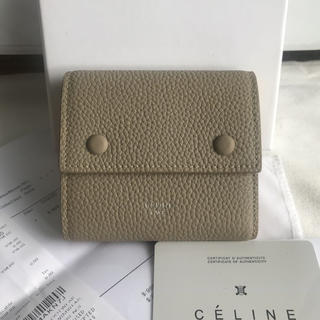 celine - (CELINE)  スモール  コンパクト 三つ折り 財布