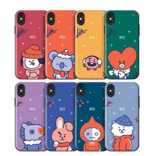 ボウダンショウネンダン(防弾少年団(BTS))のBT21 クリスマスエディション 携帯ケース GALAXY iPhone(モバイルケース/カバー)