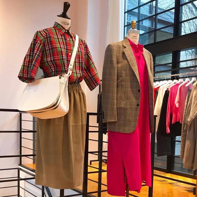 Drawer(ドゥロワー)のblamink チェックシャツ 38 ドゥロワー   レディースのトップス(シャツ/ブラウス(半袖/袖なし))の商品写真
